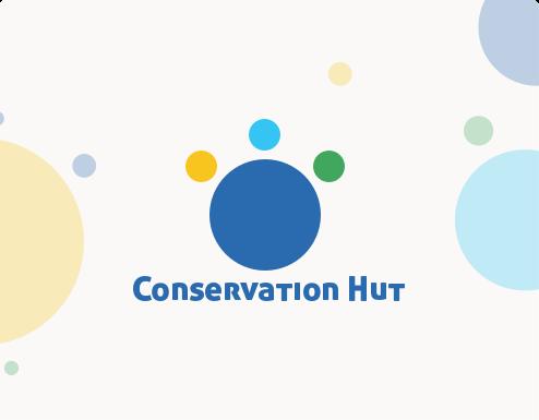 Brand Identity, Social Media Marketing for Conservation Hut