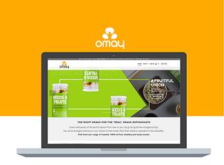 Website Development for Omay Foods