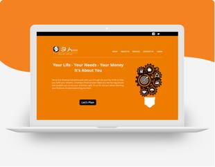 Branding, UX/ UI and Website Development for SLA Financial Solutions