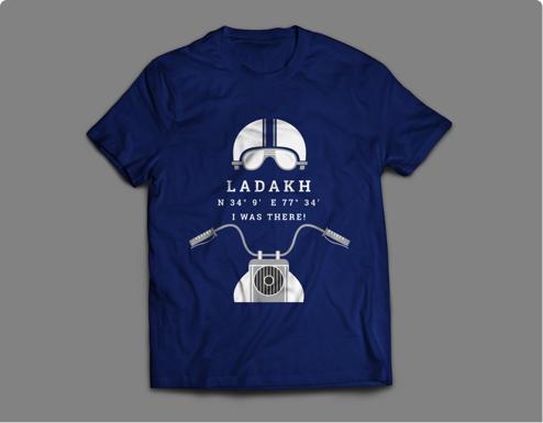 T-Shirt Design for Thrillophilia