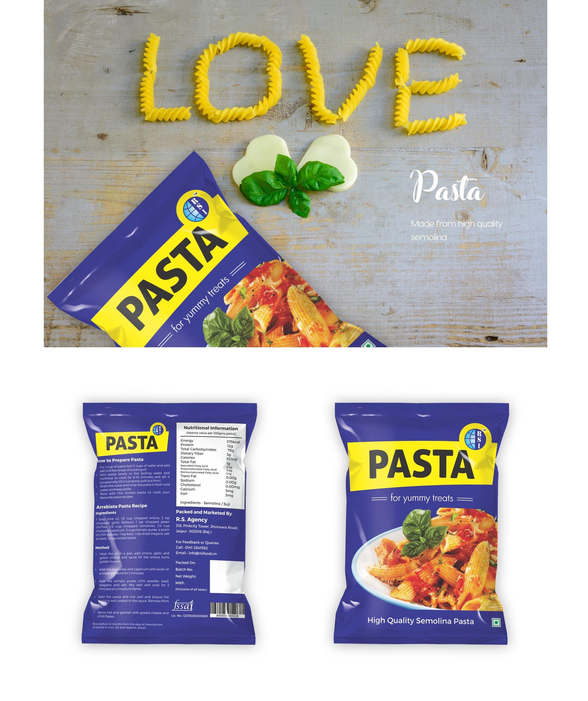 Pasta by R.S. International.