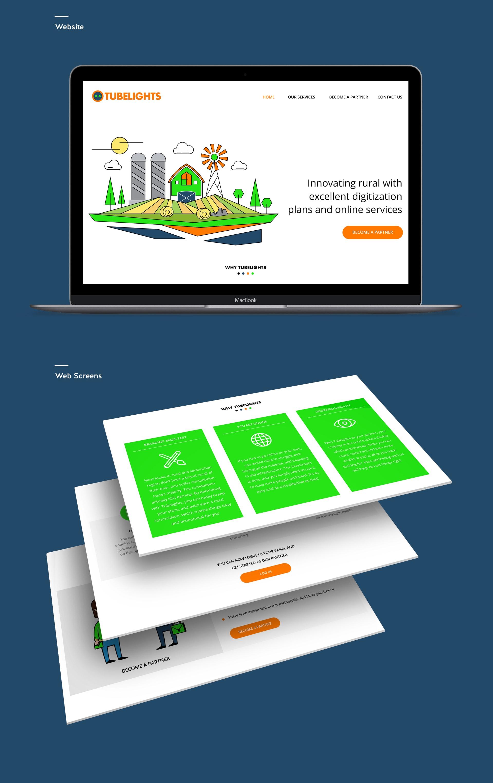 Website , Web screens
